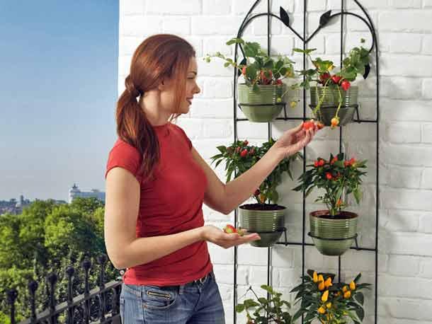 Подставка для цветов на балконе