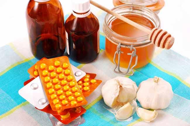 Действие мёда на раны