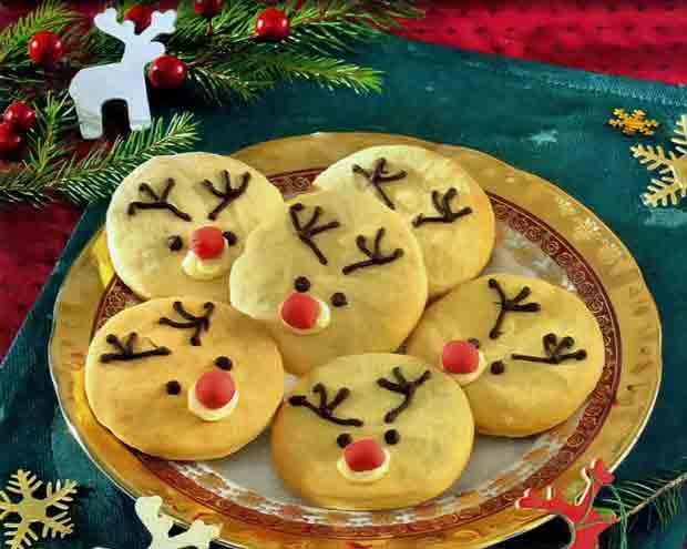 Печенье «Новогодние Олени»