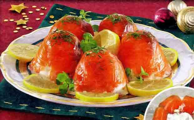 Закуска из красной рыбки
