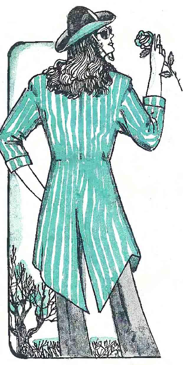 Модный женский фрак