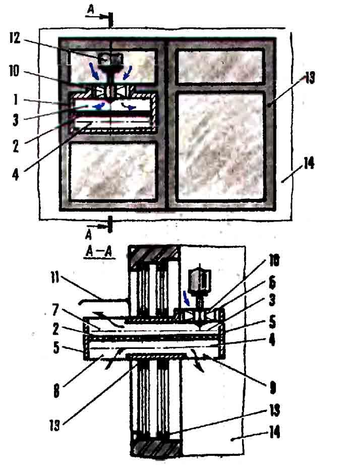 Оконный вентилятор двухпоточный