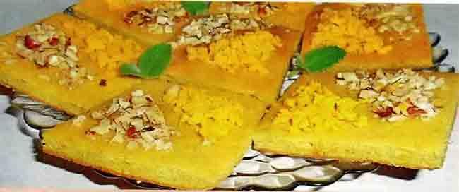 Печенье «Цитрусовое» с орехами
