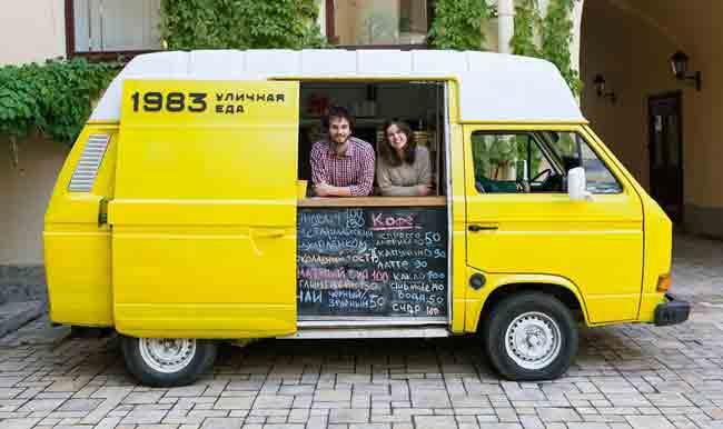 автомобиль, кафе, торговля, микроавтобус