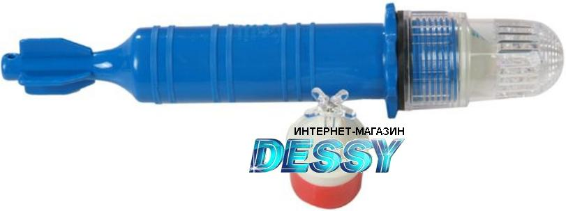 Монохромный (голубой) светодиодный фонарь для привлечения рыб