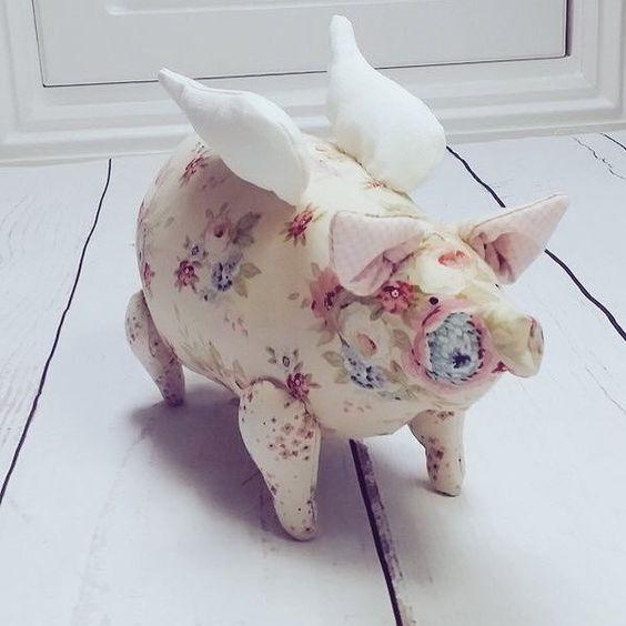 Шьём Свинью - символ года, подборка простых выкроек