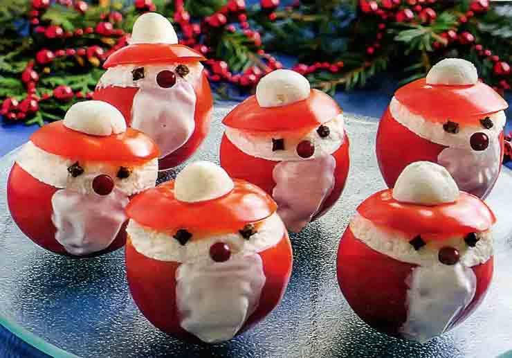 Закуска Деды Морозы
