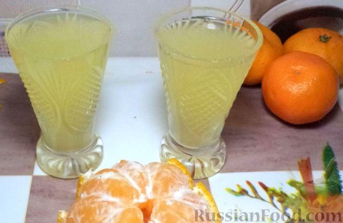 Новогодняя мандариновая водка