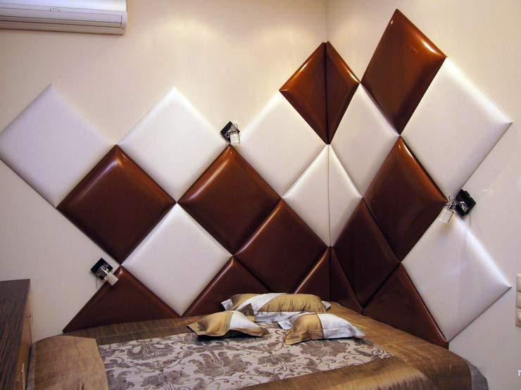 Мягкая отделка для стен самостоятельно