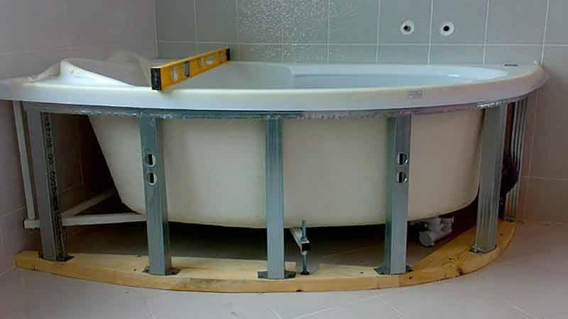 Экраны и каркасы для ванной